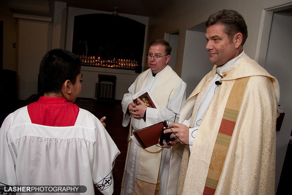 2009-01-25 [Fr. Craig Hall Dedication, St. Joseph's Church, Firebaugh, CA]