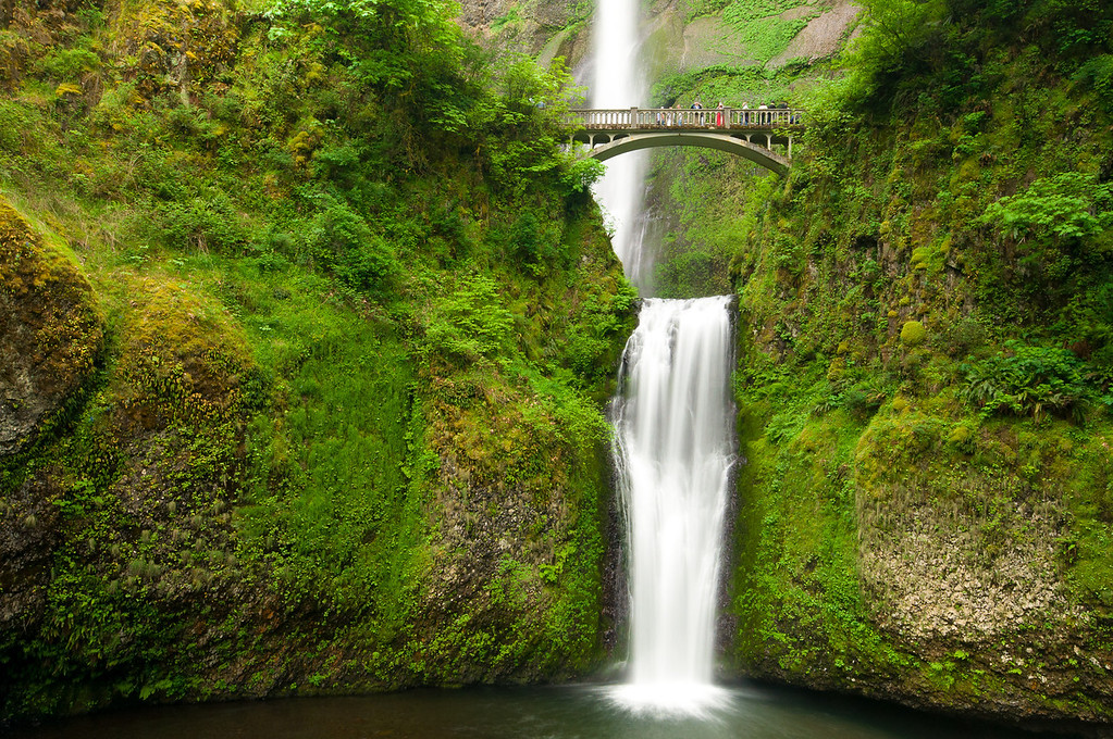 Multnomah Falls Close Up