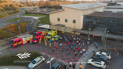 2020.04.16 Clap for our carers - South West Acute Hospital