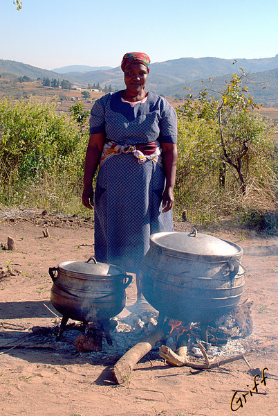 Woman Cooking*