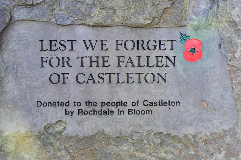 Remembrance Sunday, Castleton 2019
