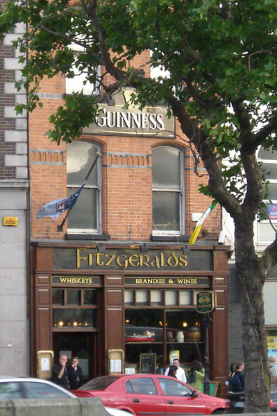 Fitzgeralds - our favorite pub in Dublin.