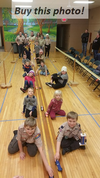 Cub Scouts Pinewood Derby 01-18