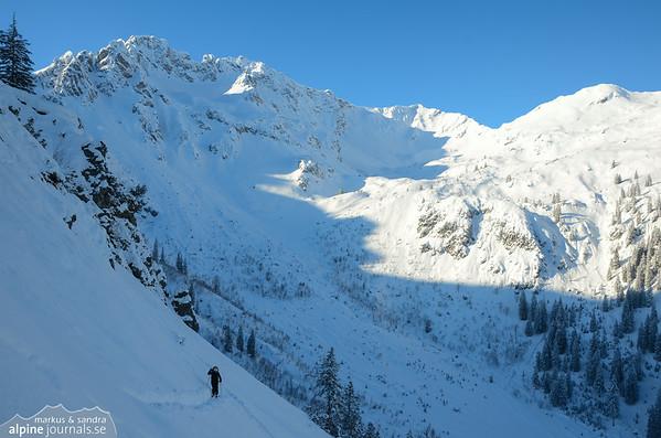 Warmatgundtal ski tour, Allgäu 2013-01-18