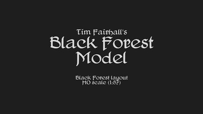 Jun 13 - Tim Fairhall's Black Forest Model