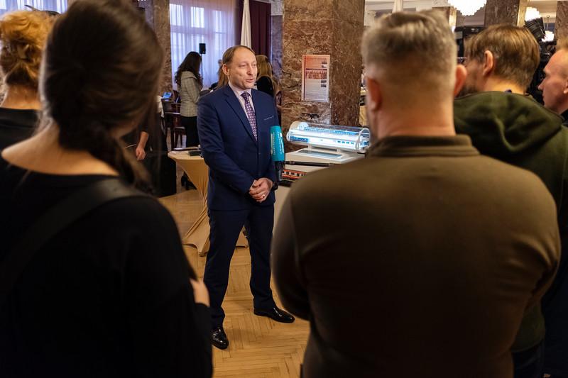 Head of the Petersburg Metro Kozin Evgen at Russia Open WFRS. Saint Petersburg, 2021.
