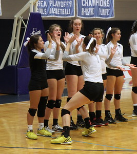 BL Varisty Vball TAPPS SemiFinal vs Tomball Concordia (11/13/2015)