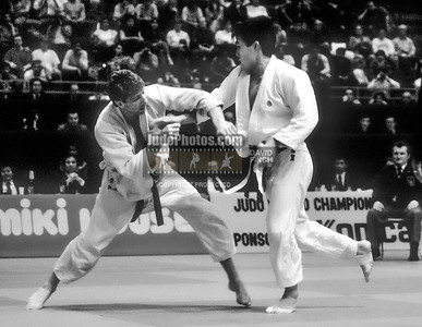 1989 Belgrade Worlds 891013A1300b: Toshihiko Koga JPN defeated Michael  Swain USA for the gold medal...