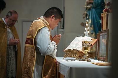 First TLM of New Priest - Fr. Santa Teresa
