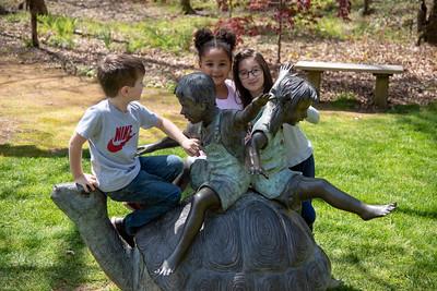 Gibbs Gardens - Kids at Play - April 2019