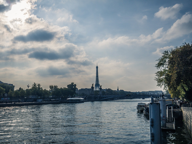 Eiffel Tower  - River Seine
