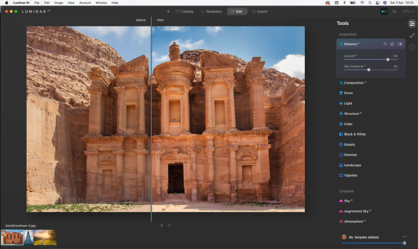 Luminar - Fix Washed Out Images