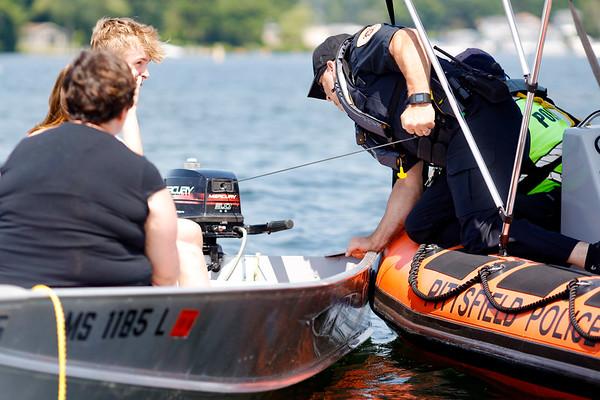 Police Patrols on Onota Lake-070220