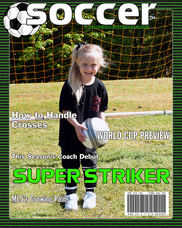 Black Shirts - Soccer Magazine