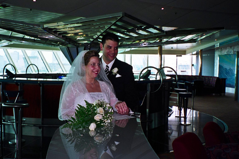 Our wedding aboard the Brilliance of the Seas, November 22, 2002. Honeymoon pictures mixed in as well.