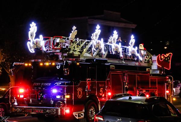 Park Ridge FD Christmas Eve 2019