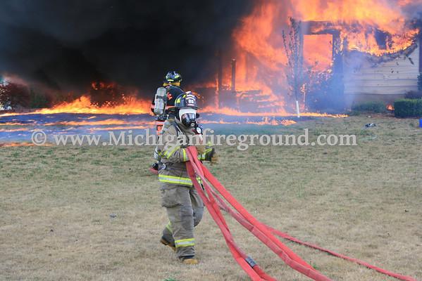 7/20/12 - Onondaga house fire, 4589 Stone Rd
