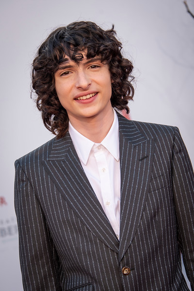 """WESTWOOD, CA - AUGUST 26: Finn Wolfhard attends the Premiere Of Warner Bros. Pictures' """"It Chapter Two"""" at Regency Village Theatre on Monday, August 26, 2019 in Westwood, California. (Photo by Tom Sorensen/Moovieboy Pictures)"""