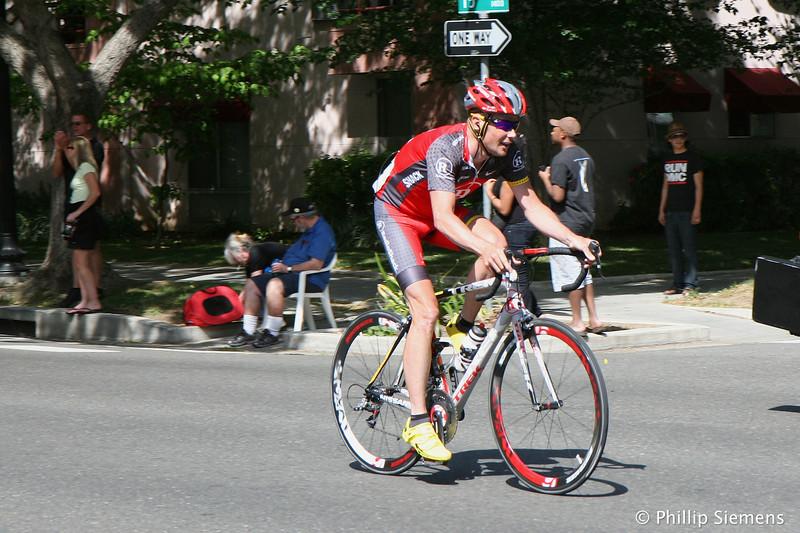 Chris Horner (after a crash)
