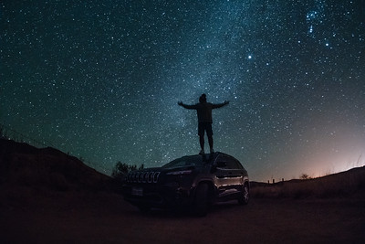 Night Jeep Shoot