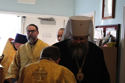Metropolitan Jonah's Visits Us (Photos by Matushka Liza)