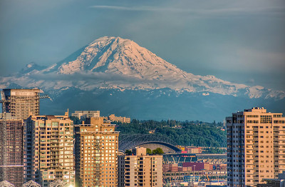 Seattle & Mt. Rainier