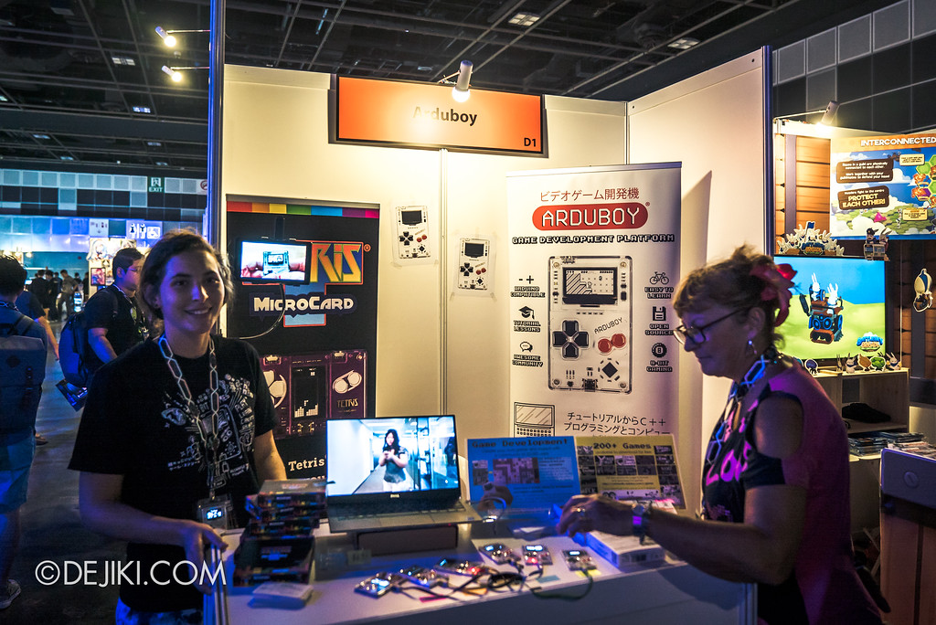 GameStart Asia 2017 Singapore gaming convention - Founders Base Arduboy