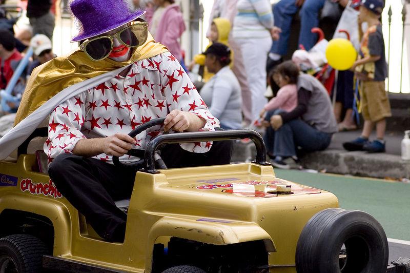 Go kart Santa Parade Auckland New Zealand - 27 Nov 2005
