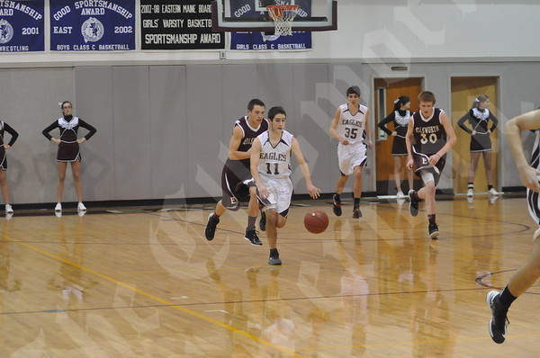 Basketball: EHS boys vs GSA 12/22