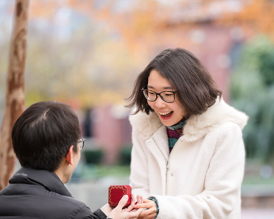 Surprise Engagement: Xiao Sun & Kaiyue Hou