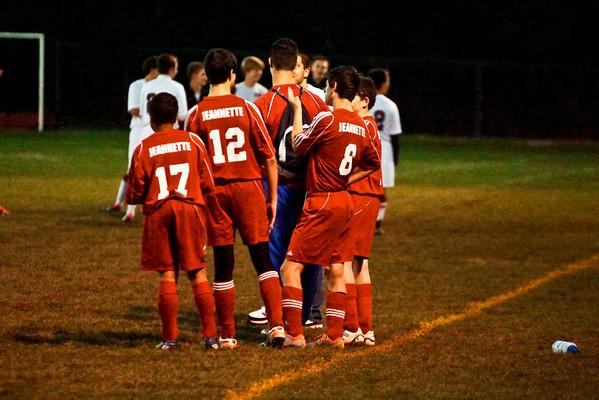Jeannette Vs GBCC Soccer