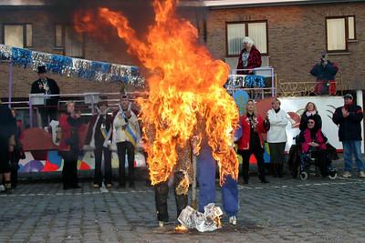 Einde van het carnaval in Steendorp 2005