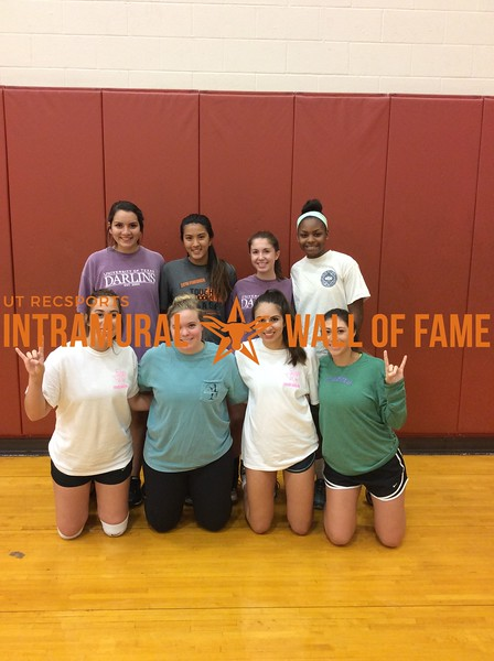 Fall 2016 Volleyball Women's B Runner Up_Texas Darlins