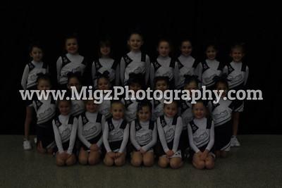 Wheatfield Town Cheerleading Gems