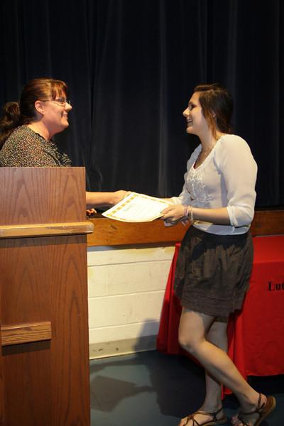 Awards Night 2012 - Student of the Year: Spanish 1
