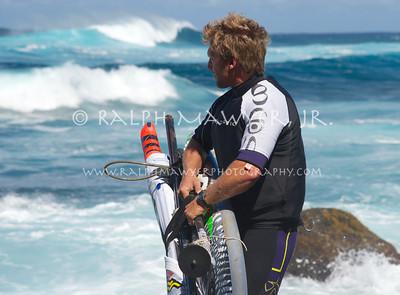 Windsurfing - Robby Swift @ Maui Jaws (Pe'ahi)