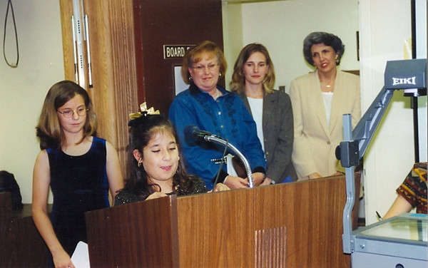 March 2000 Board Recognition, Austin Service Awards