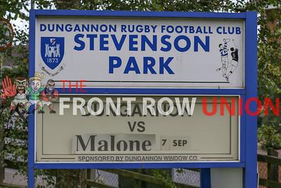2019-09-07 Dungannon 30 Malone 20 (Senior Cup)