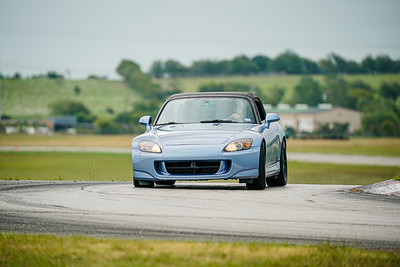 Light Blue Honda S2000