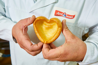 5/2/19 - Aunt Bessie's Heart Shaped Yorkshire Puddings
