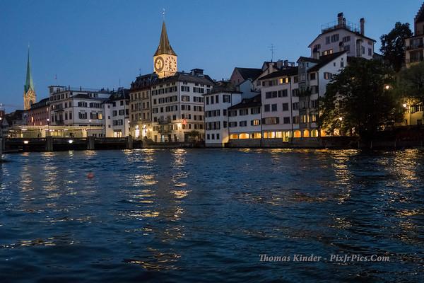Switzerland and Italy 2017