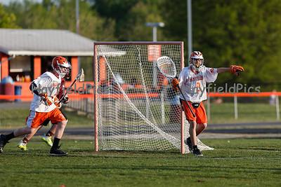 Boys JV Lacrosse Mount Vernon 4/26/13