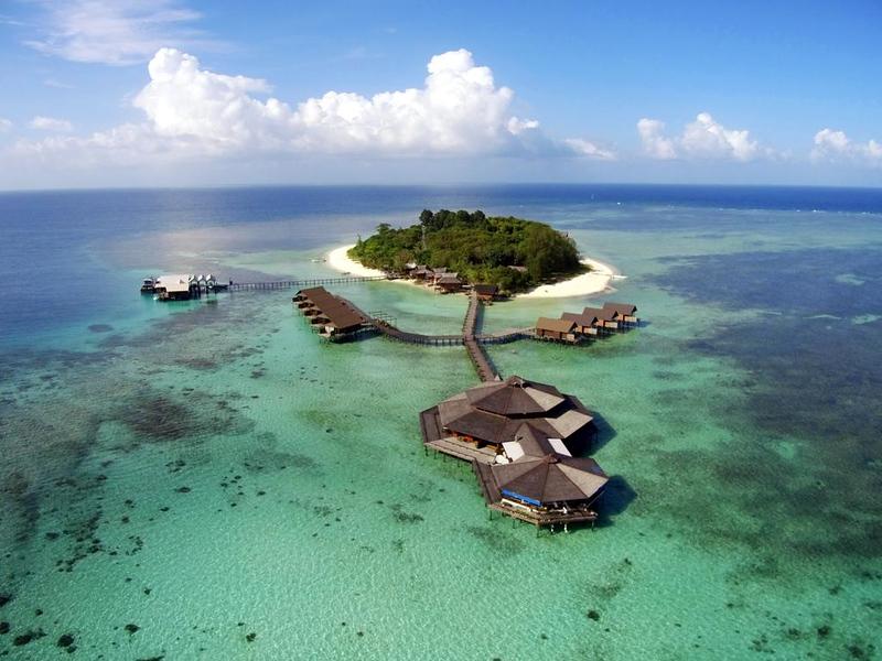 Lankayan Island Dive Resort, Sandakan, Malaysian Borneo
