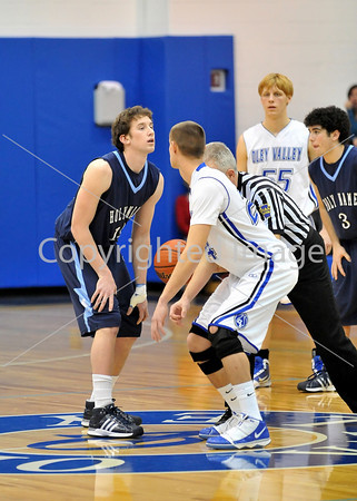 Oley VS Holy Name High School Basketball 2009-2010