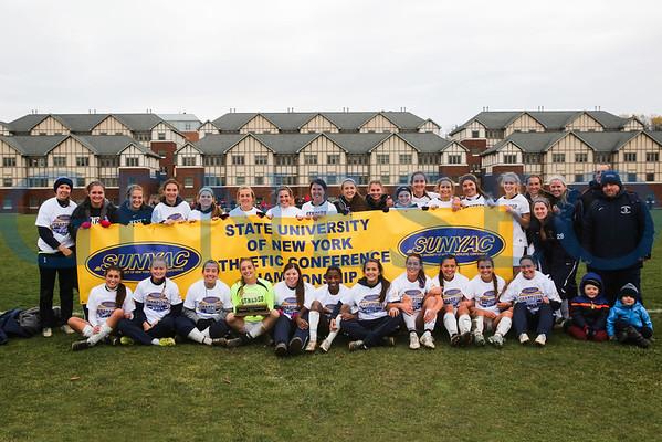 Women's Soccer SUNYAC Championship vs. Cortland