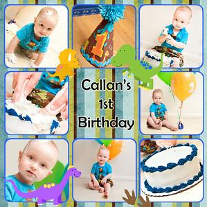 Callan's 1st Birthday - Cake Smash