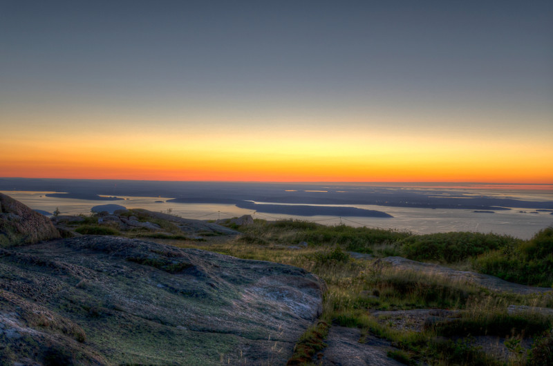Dawn on Cadillac Mountain
