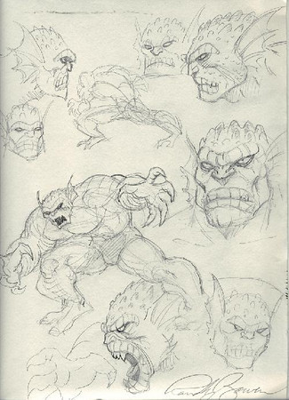 Randy Bowen Sketches