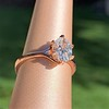 1.05ct Oval Cut Diamond Solitaire, GIA H SI1 7