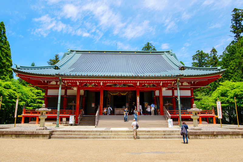 Enryaku-ji Temple. Editorial credit: beeboys / Shutterstock.com